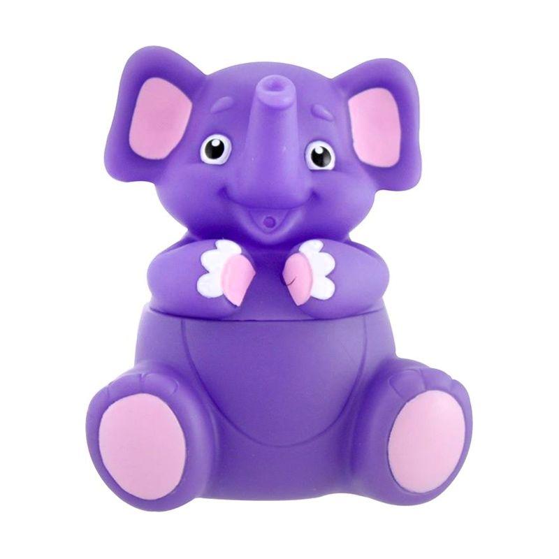 Sassy Stay Clean Bath Squirter Elephant Perlengkapan Mandi [Single Pack]