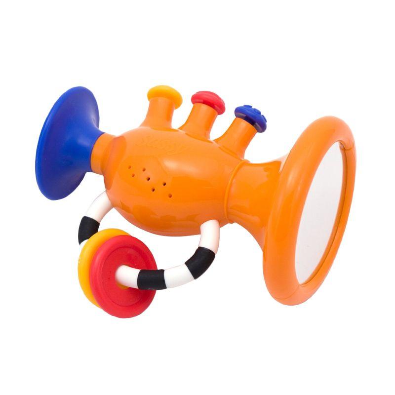 Sassy Trumpet Tunes Orange Mainan Bayi