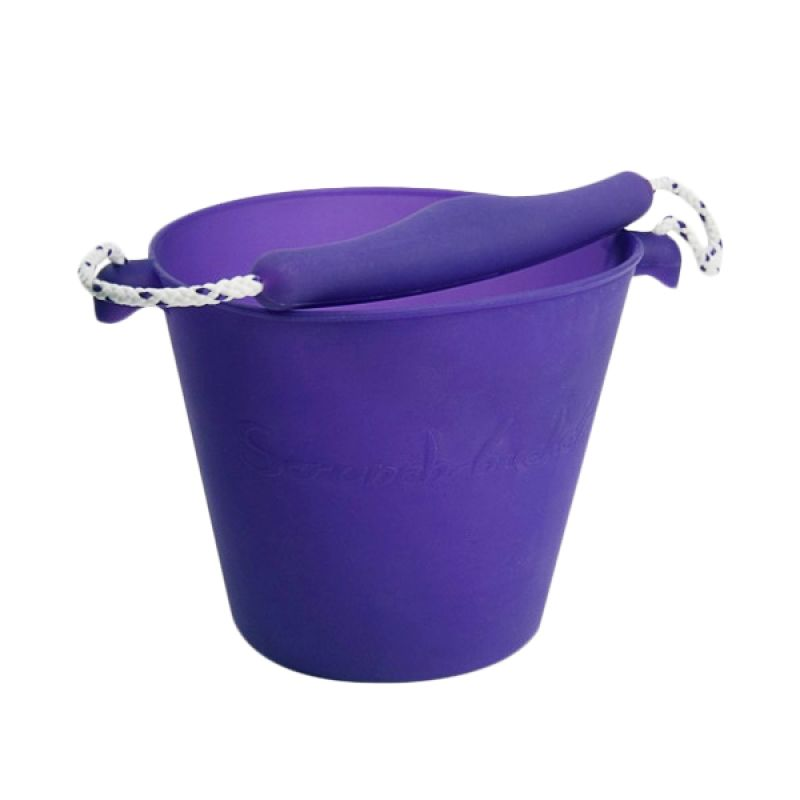 Scrunch Bucket Purple Mainan Anak