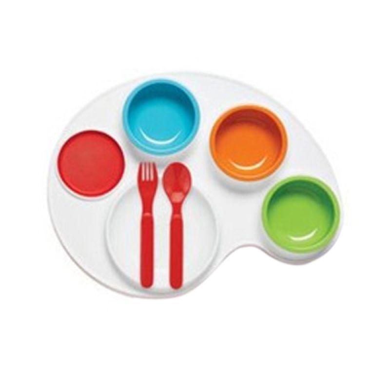 SkipHop Palette Set Plate and Bowl Kotak Makan