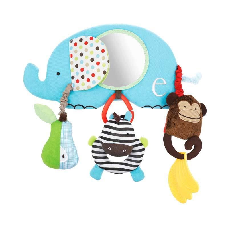 Skip Hop Stroller Bar Toy Alphabet Zoo Mainan Bayi