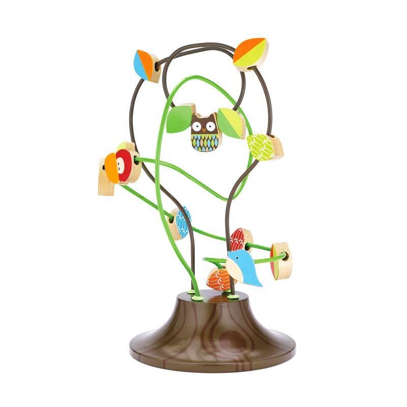 SkipHop TreeTop Friends Busy Bead Tree Mainan Anak