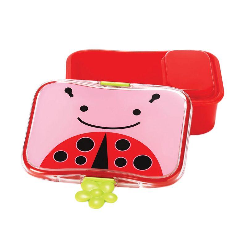 SkipHop Zoo Red Kit Ladybug Kotak Makan