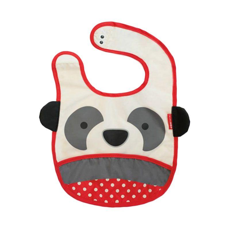 Skip Hop Zoo Panda Grey Celemek Bayi