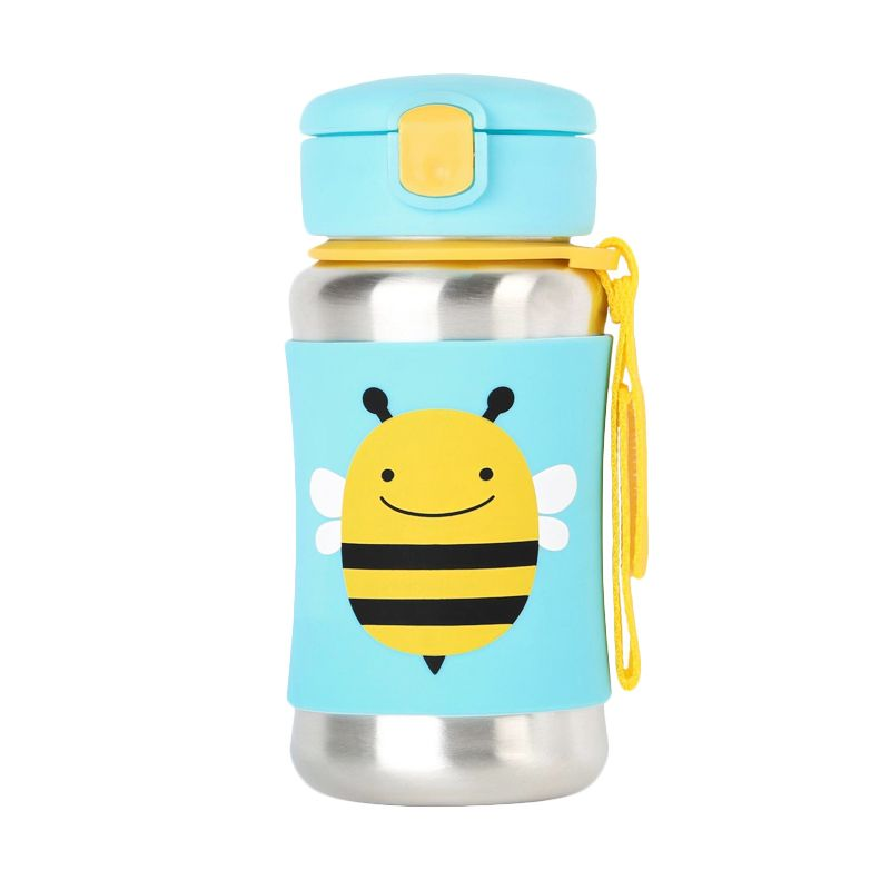 Skip Hop Zoo Stainless Sport Bee Botol Minum
