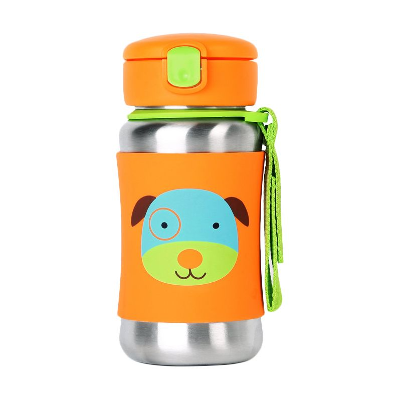 Skip Hop Zoo Stainless Sport Dog Botol Minum