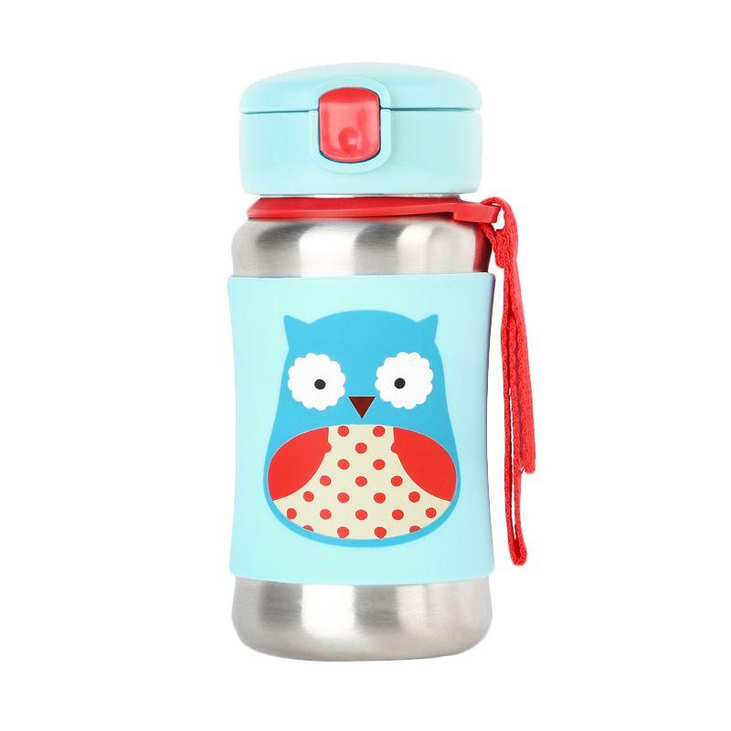 Skip Hop Zoo Stainless Sport Owl Botol Minum