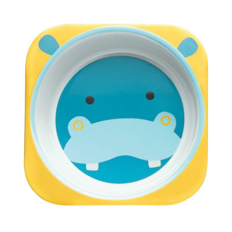Skip Hop Zoo Tabletop Hippo Mangkuk Makan Anak