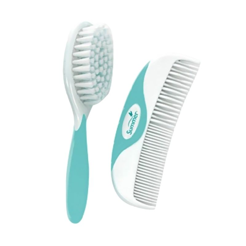 Summer Infant Hijau Brush & Comb Set