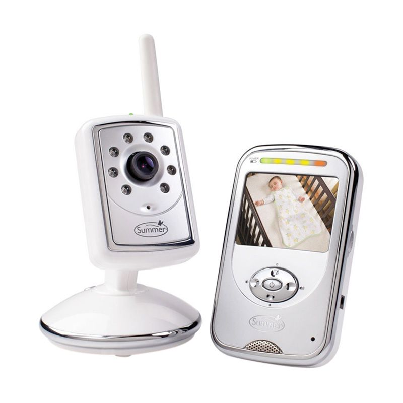 Summer s Infant Global Slim Secure Plus Digital Silver Baby Monitor