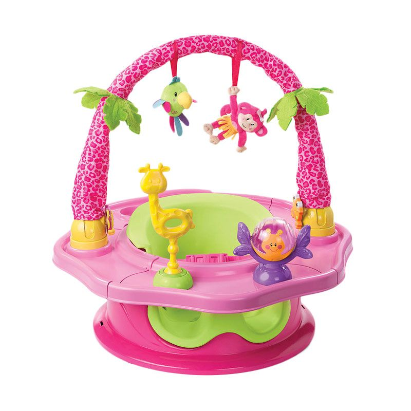 Summer's Infant Super Seat Deluxe Pink Mainan Anak