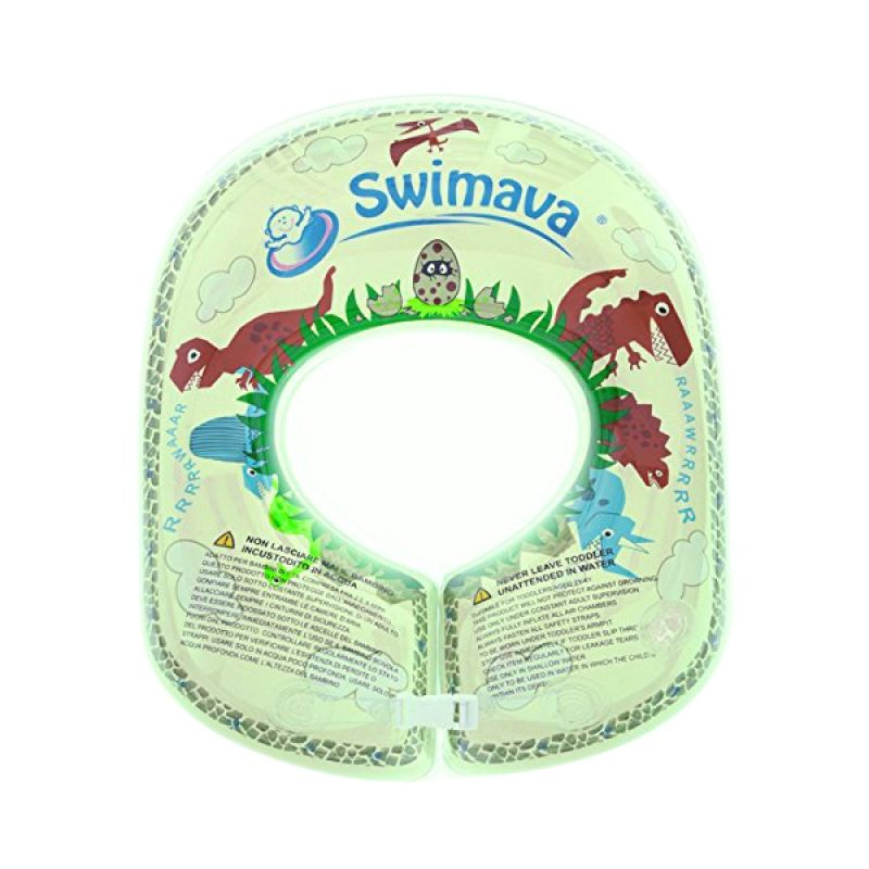 Swimava Swimming Trainer Ring T-Rex G-2 Green Pelampung Anak