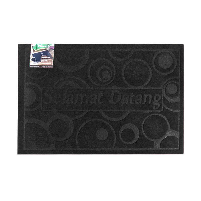 Evamatic Anti Slip L09 Hitam Keset [40x60 cm]