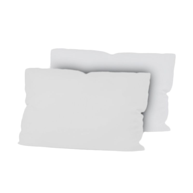 Hanna Putih Sarung Bantal [2 Pcs/50x70 cm]