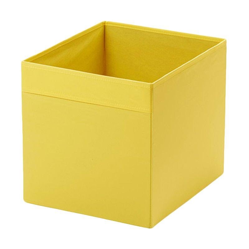 IKEA Drona Organizer Kuning Kotak Serbaguna [33x38x33 cm]