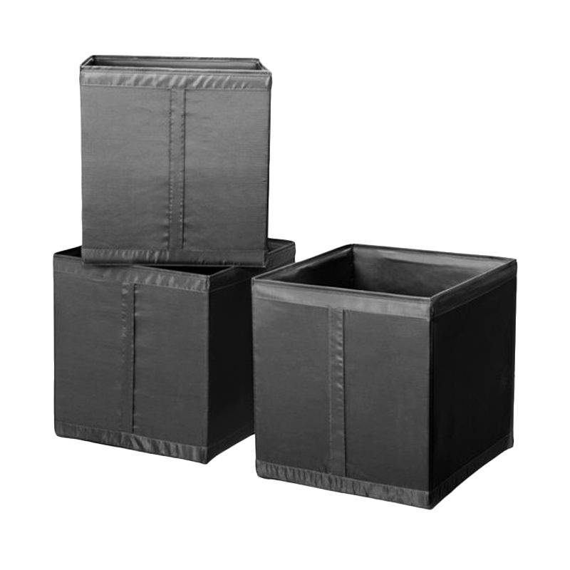 Ikea Skubb Hitam Kotak Organizer [3 Pcs or 31x33x34 cm]