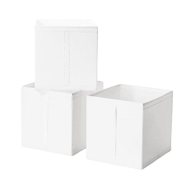 Ikea Skubb Putih Kotak Organizer [3 Pcs or 31x33x34 cm]