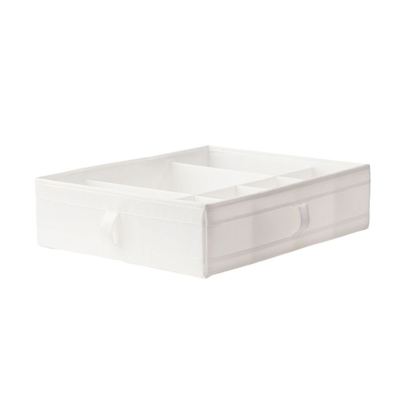 Ikea Skubb White Compartment Box Kotak Organizer [44x34x11 cm]