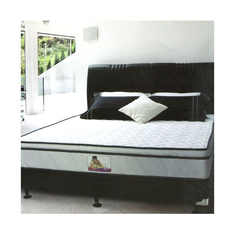 Resta Alma Krem Spring Bed Set