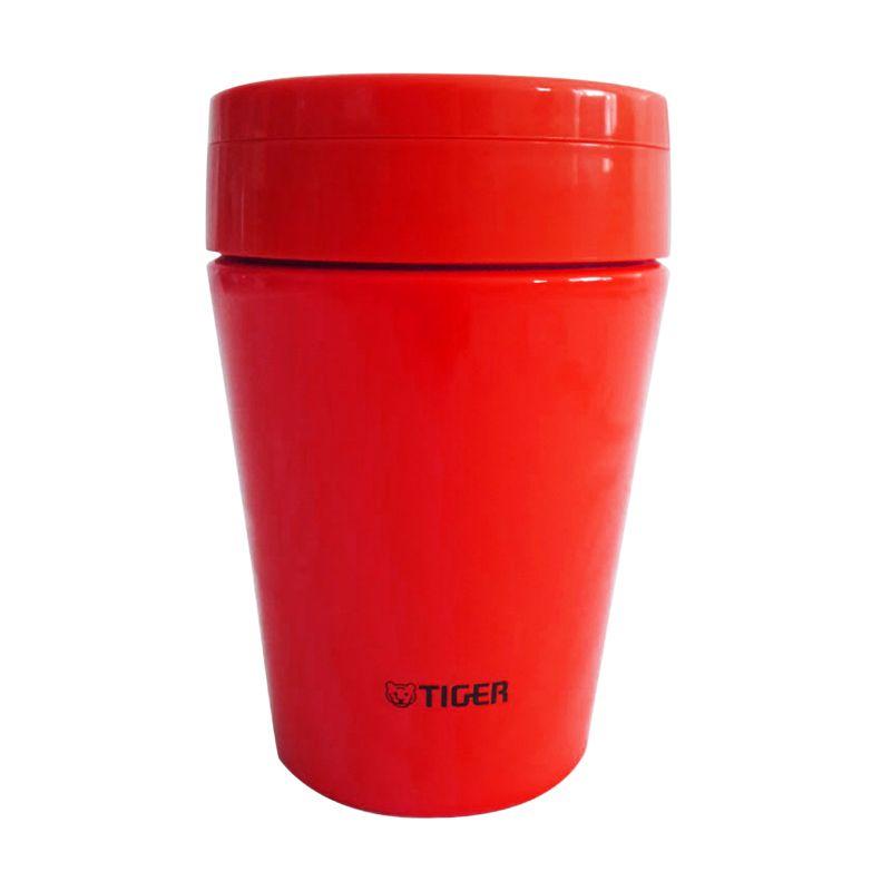 Tiger MCCB038 Merah Thermal Soup Cup [380 mL]