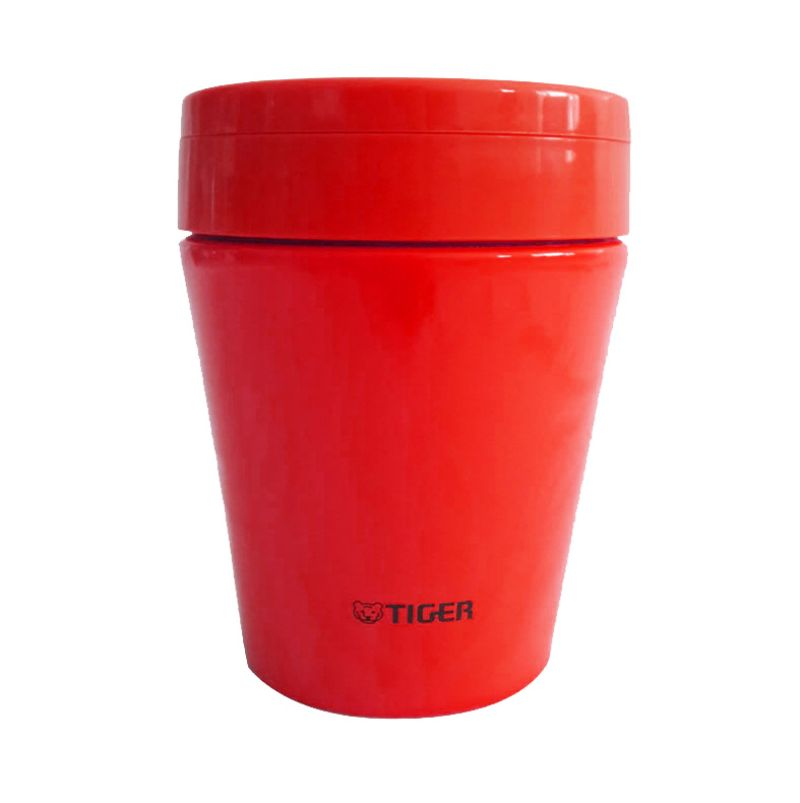 Tiger Thermal Soup Cup MCCB030 Merah Termos [300 mL]