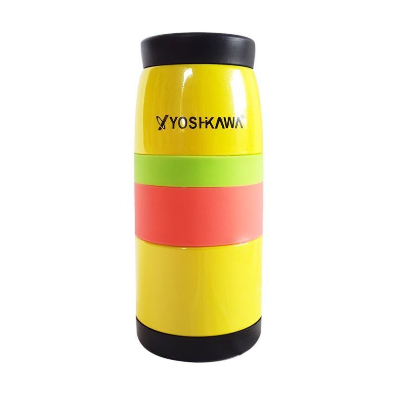 Yoshikawa EL350 Yellow Termos [350 mL]