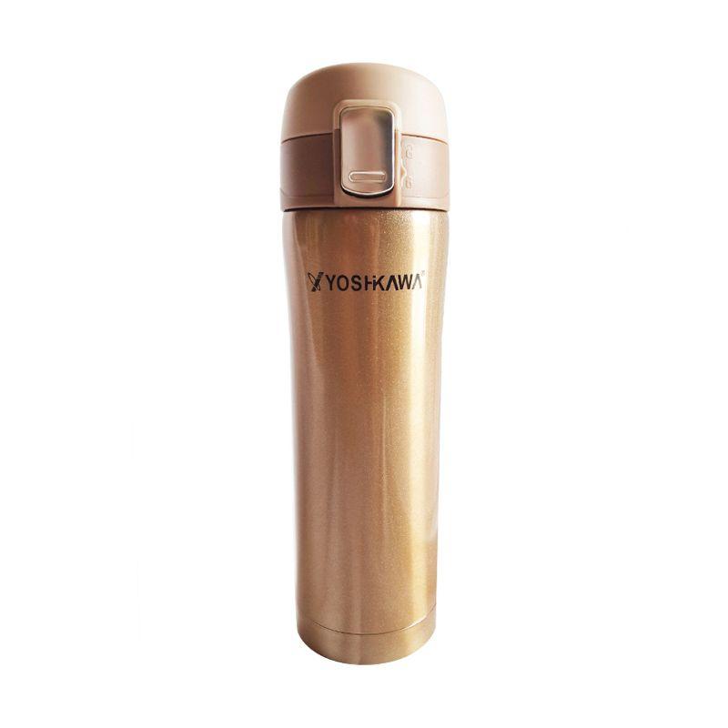 Yoshikawa Vacuum Flask 480 ml ELK4802 Coklat Termos
