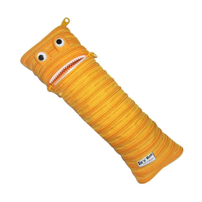 Zip N Roll Pouch 10 x 30 CM - SP002 - Kuning
