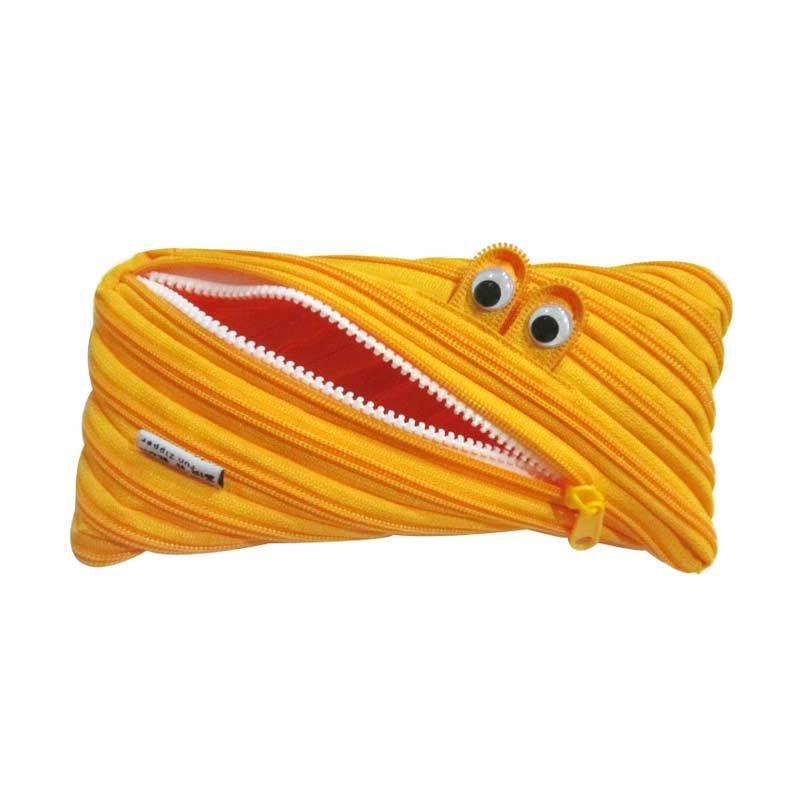 Zip N Roll Pouch 23 x 11 CM - SP001 - Kuning