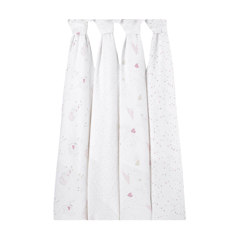 Aden + Anais Lovely 4-pack Classic Swaddles