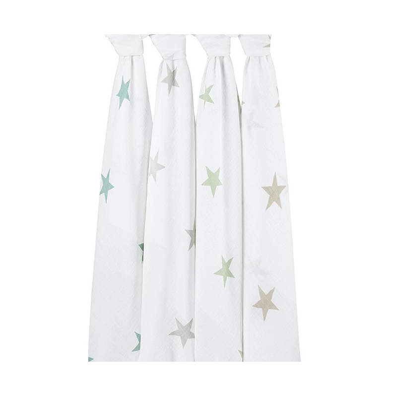 Aden Anais Super Star Scout Classic Swaddles Bedong Bayi [4 pcs]