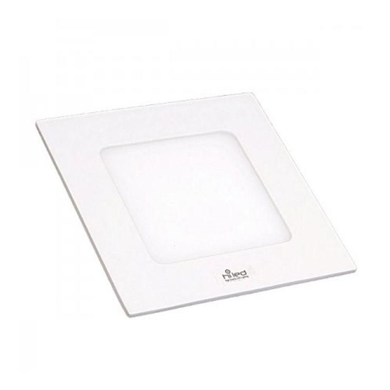 Hiled Panel Slim Downlight 6W Square White Lampu
