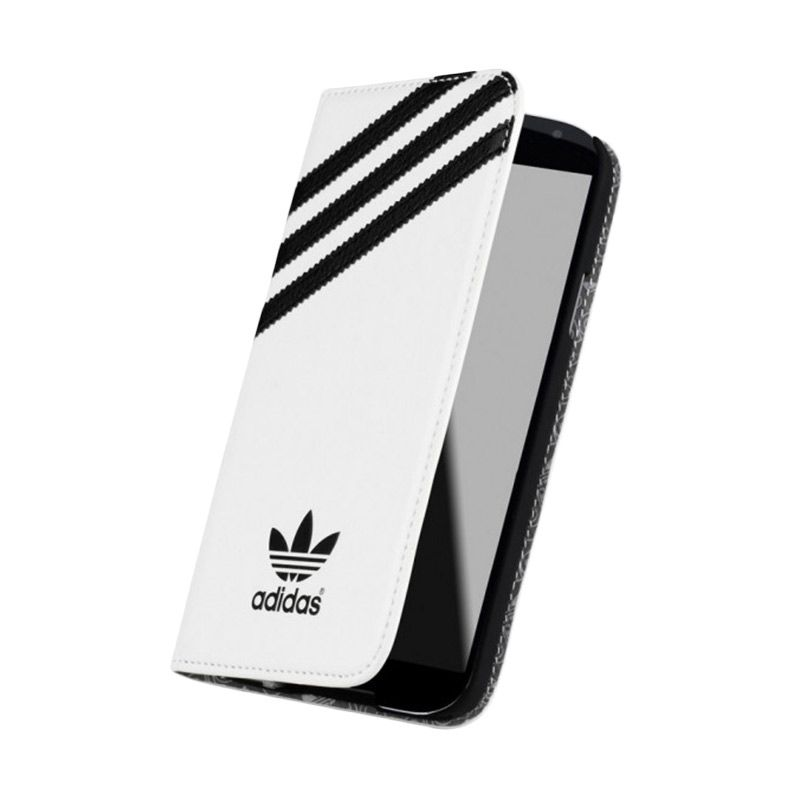 adidas Booklet White Black Case for Apple iPhone 6