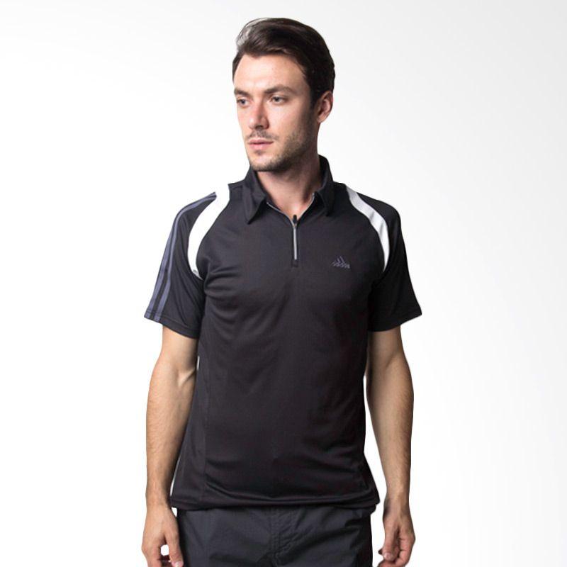 Adidas N48144 Black Polo Shirt