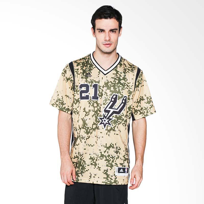 1eb02bde76c1 ... adidas Men Basketball NBA San Antonio Spurs Tim Duncan Swingman Jersey  Basket (A46153) ...