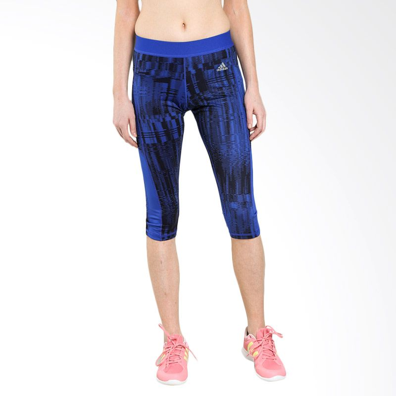 adidas Women Training Tech Fit 34 TGT PR 1 Celana Olahraga (A99732)