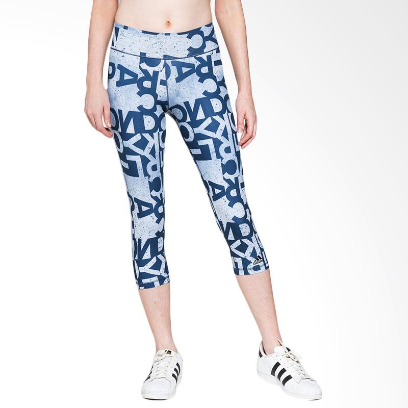 harga adidas Women Training Wo 3/4 Tight Aop Celana Fitness (AJ5030) Blibli.com