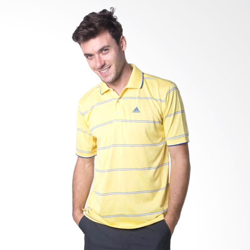 Adidas Zip Up N49463 Yellow Baju Golf