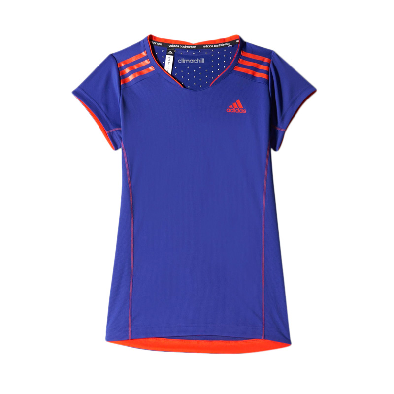 adidas Women S09176 BT Clima Tee Kaos Badminton