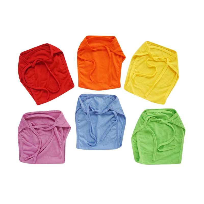 Baby Chaz Rainbow Popok Bayi [6 Pcs]