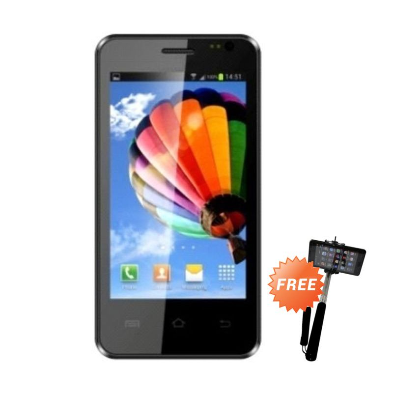 Aldo AS 6 Smartphone + Tongsis Monopod