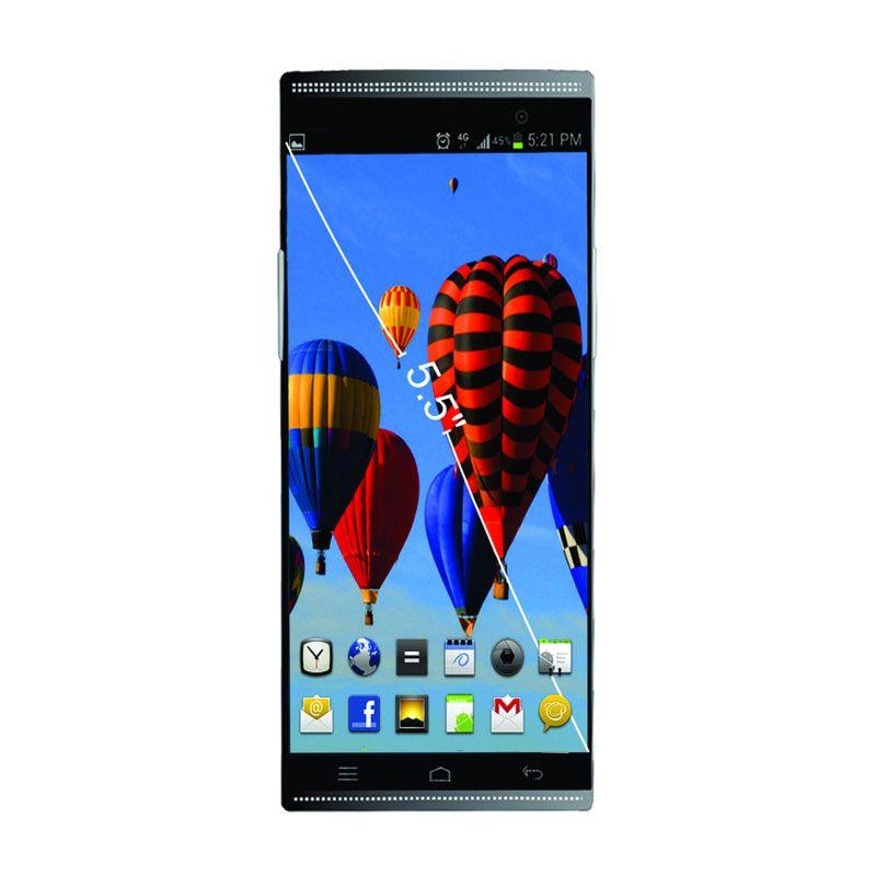 Aldo AS5 Octacore Selfie Hitam Smartphone + Casing + Screen Protector