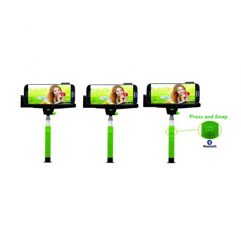 Aldo Hijau Paket Wireless Bluetooth Monopod [3 Pcs]