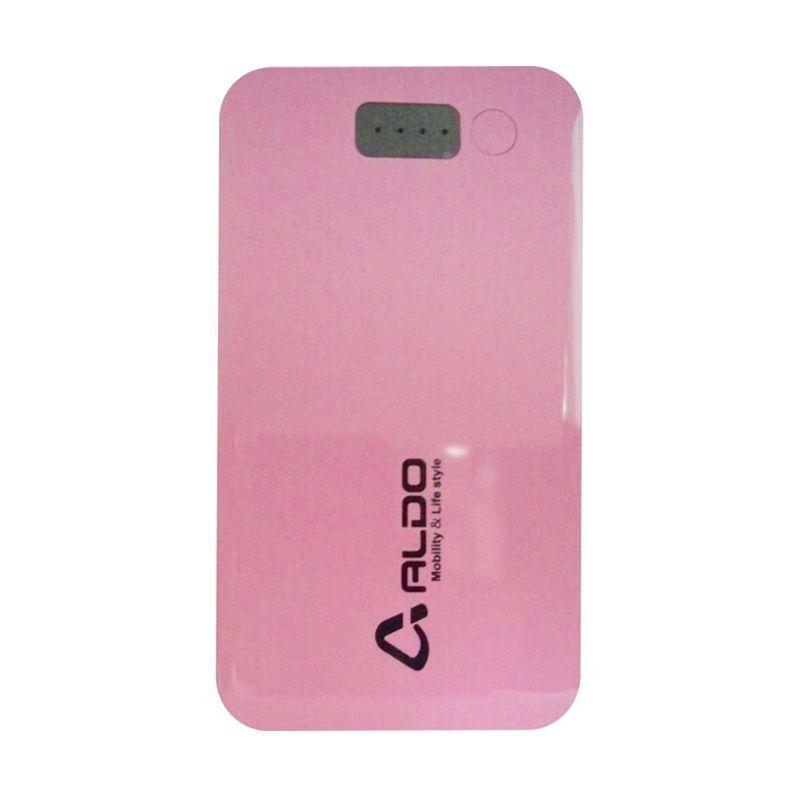 Aldo Ultra Slim Pink Powerbank [4100 mAh]