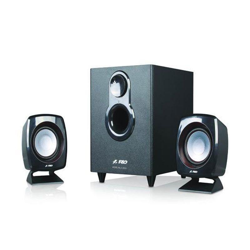 Fenda F203G Speaker  2.1 - Black