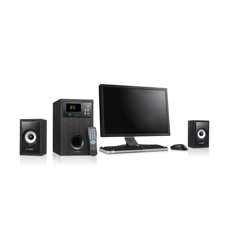 Fenda A555U 2.1 Hitam Multimedia Speaker