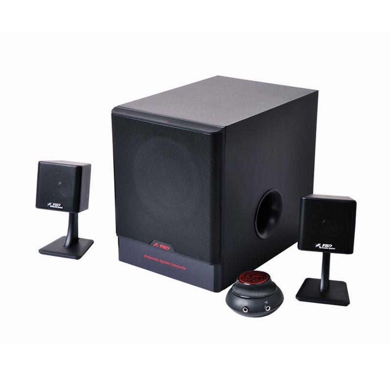 Fenda F680 2.1 Hitam Multimedia Speaker