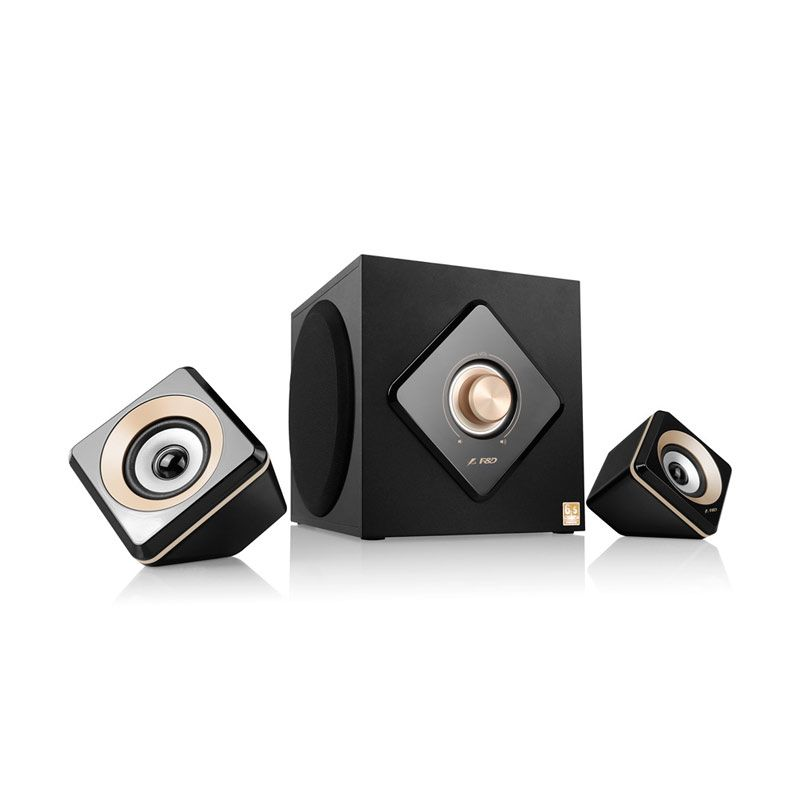 Fenda A330BT Multimedia Speaker 2.1 - Hitam