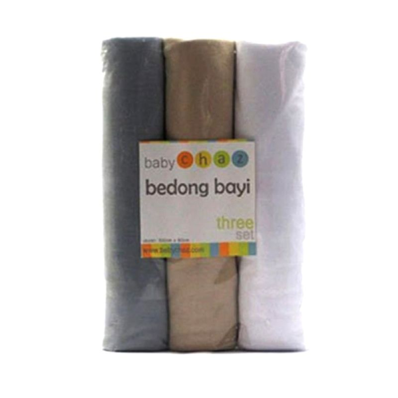 Baby Chaz B Bedong Bayi [3 Pcs]