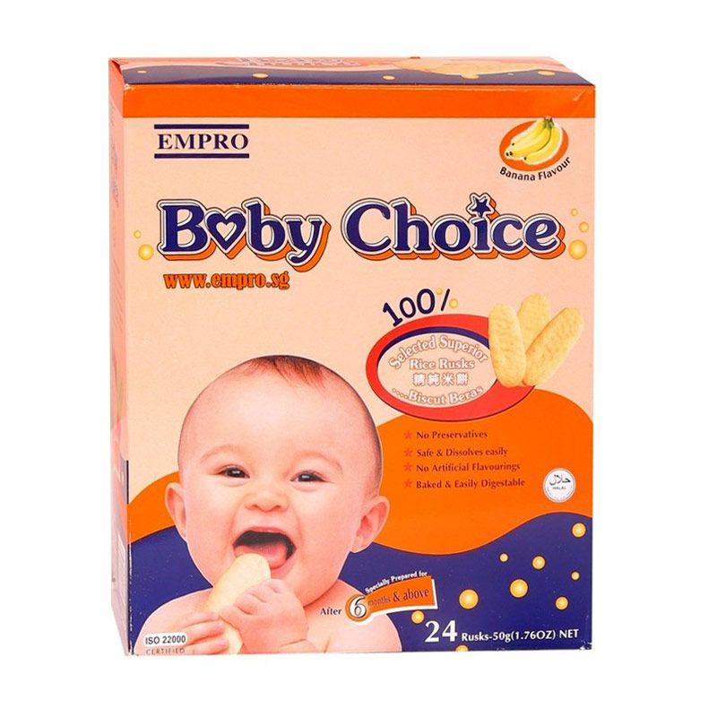 Empro Baby Choice Banana Biskuit Bayi